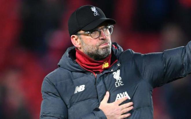 Jurgen Klopp: 'Không công bằng nếu Liverpool mất chức vô địch'