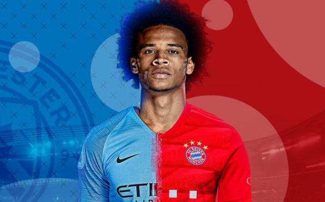 Leroy Sane chia tay Man City về Bayern Munich giá 55 triệu bảng