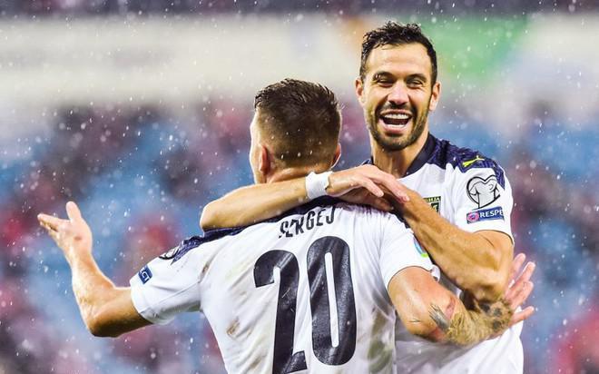 Lịch thi đấu, lịch phát sóng play-off EURO 2020 đêm nay 12.11: 'Chốt' 4 chiếc vé cuối cùng vào VCK
