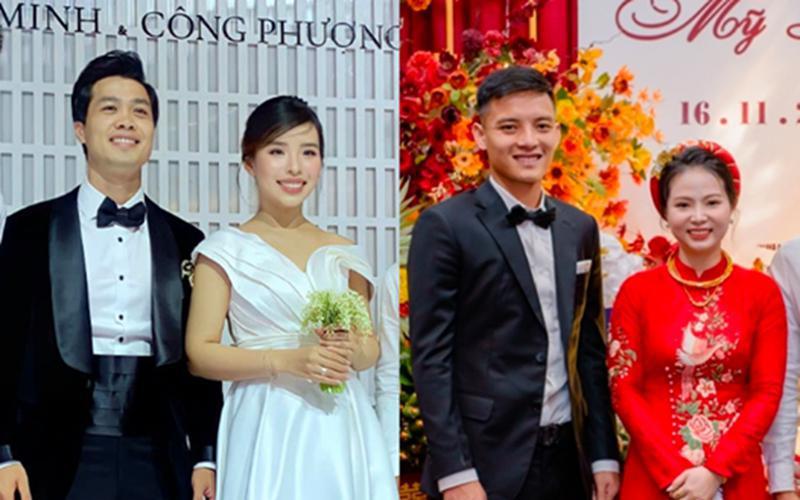 Hôm nay không chỉ mình Công Phượng mà 1 cầu thủ xứ Nghệ khác cũng tổ chức đám cưới