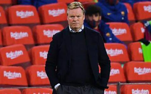 Koeman thừa nhận cửa vô địch của Barca đã rất hẹp