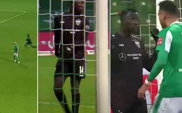 Bị phạt thẻ vàng vì ghi bàn thắng 'phi thể thao' nhất lịch sử Bundesliga
