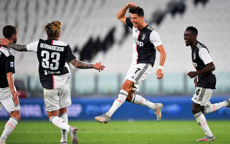 Juventus vô địch Serie A sớm 2 vòng đấu