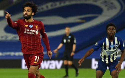 Salah vượt xa Owen, Fowler và Gerrard