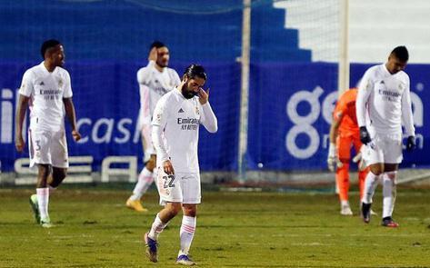 Real Madrid thua sốc đối thủ đến từ giải hạng 4 Tây Ban Nha