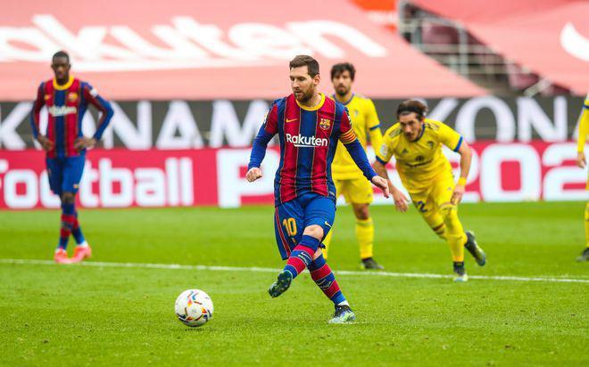 Kết quả La Liga, Barcelona 1-1 Cadiz: Cú sốc cho Messi trong ngày lập kỷ lục
