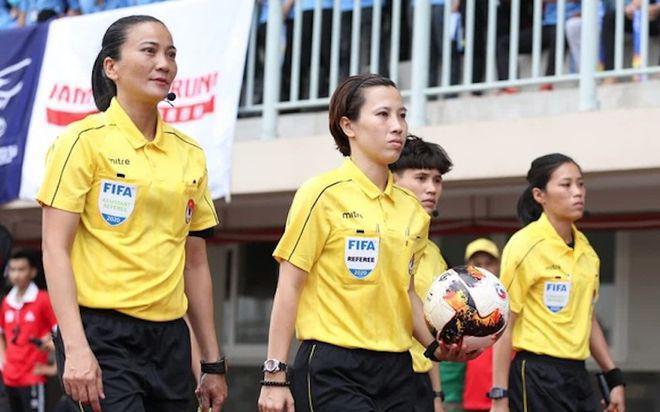 FIFA đề nghị VFF cho 2 nữ trọng tài V-League tham dự World Cup nữ 2023
