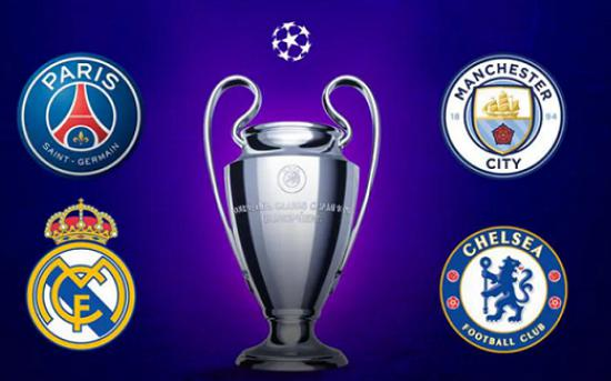 ƯCV vô địch Champions League: Real Madrid, PSG xếp sau Man City
