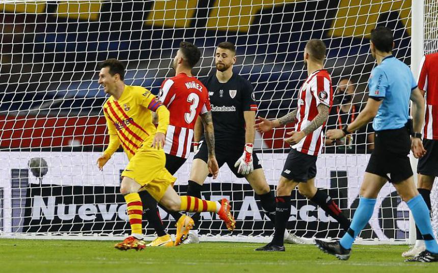 Barca vô địch Cúp Nhà vua, Messi tự hào nhất điều gì?