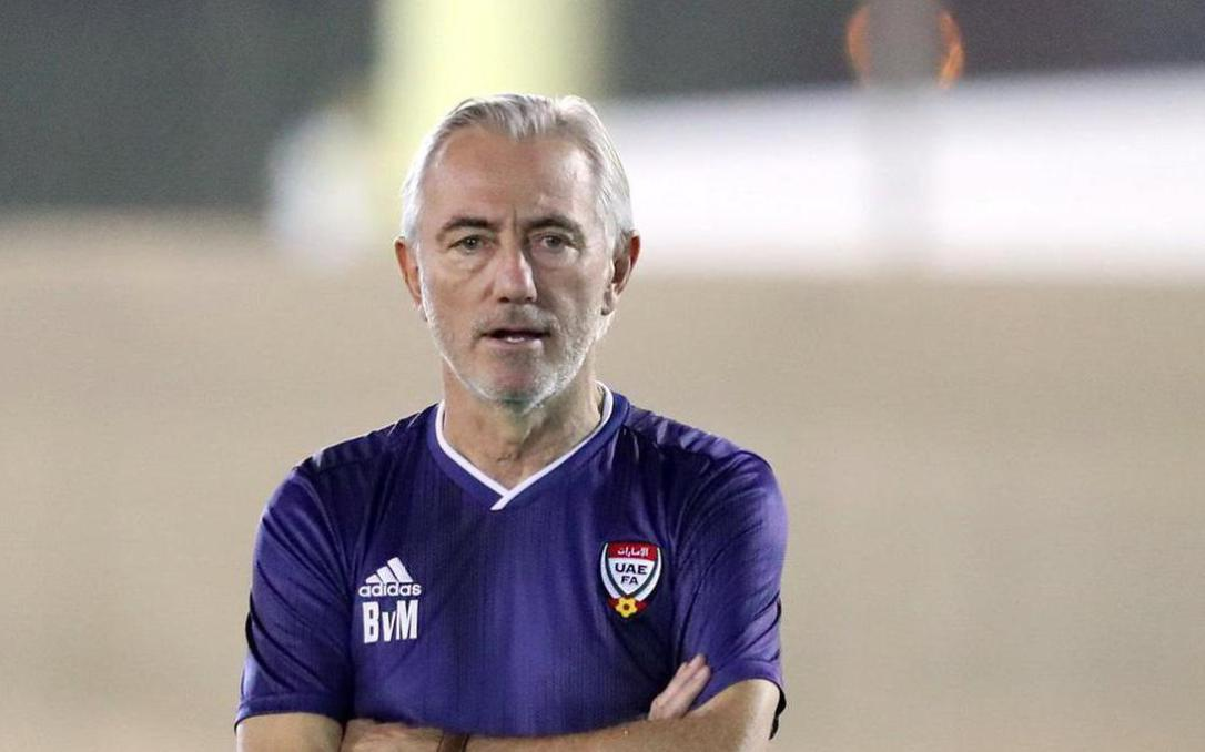 Tuyển UAE sốt sắng về hàng công, HLV Bert van Marwijk lập tức được xoa dịu nỗi lo
