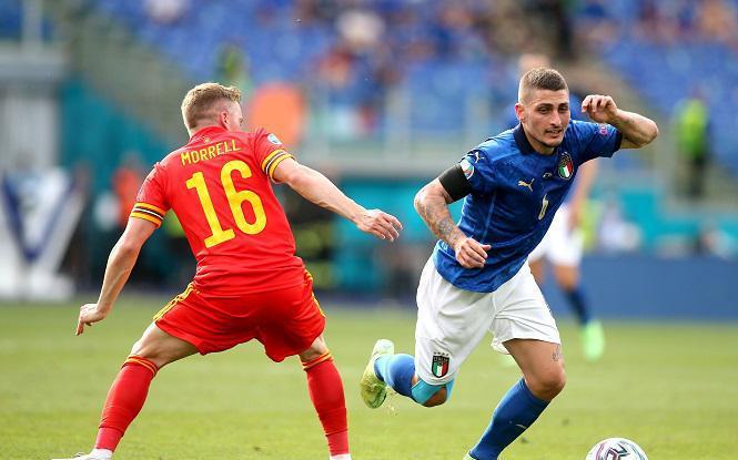 Đội hình Italia gặp Áo với Verratti gây đau đầu cho Mancini