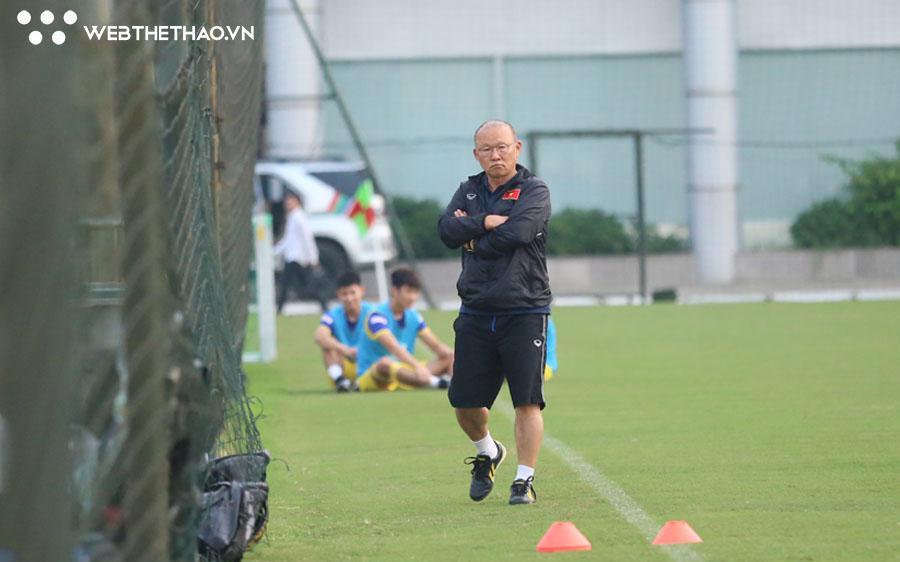 Hết cách ly, HLV Park Hang Seo trở lại dẫn dắt ĐT Việt Nam